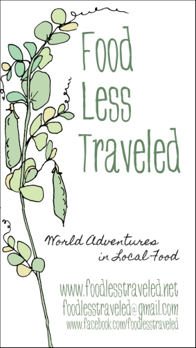 FoodLessTraveledCard