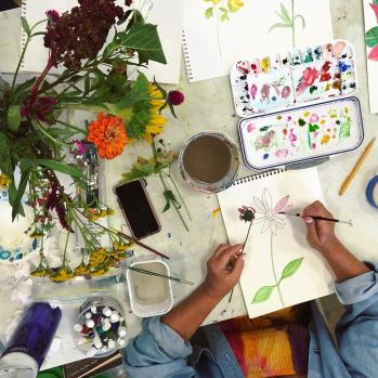 Botanical Watercolor Workshop 3