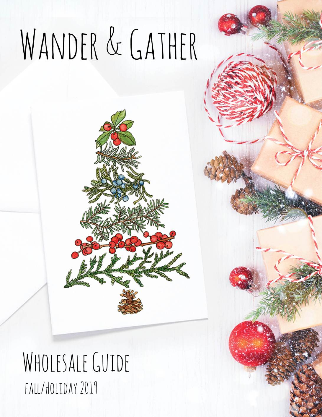 Wander and Gather Wholesale Guide fall and holiday 2019